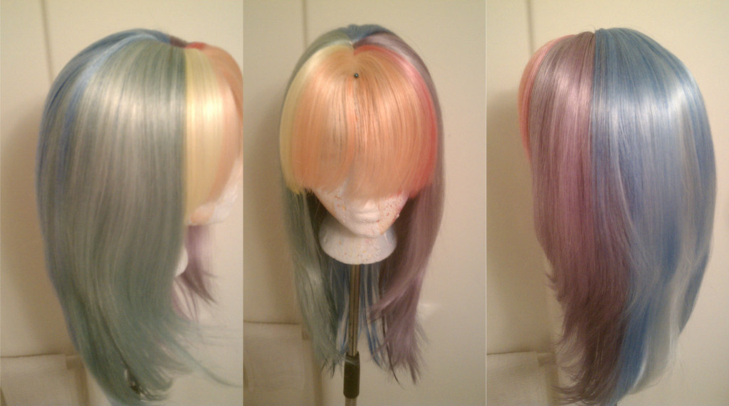 Dying Wigs with Ink – The Rabbit Tales